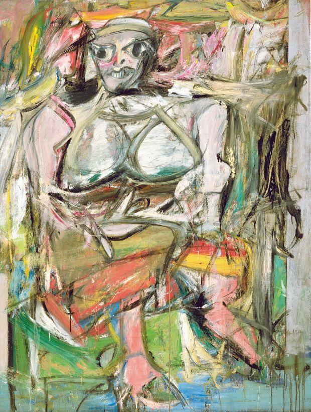 de kooning woman portrait