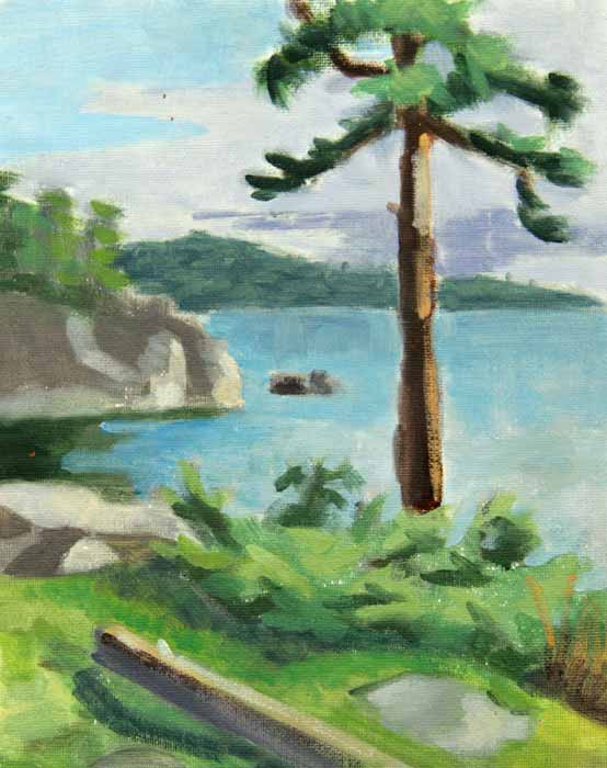 courtney clinton landscape painting