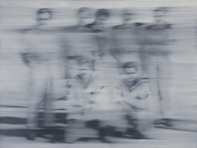 Sailors, 1966, Gerhard Richter